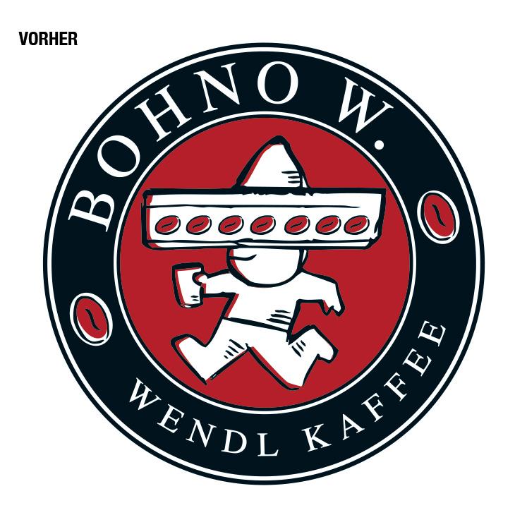 """Der sympathische kleine Bohno W. ist das Gesicht der hauseigenen Kaffeemarke des """"Brotagonisten"""" Wendl. Und wer für guten Geschmack steht, sollte das auch zeigen – deshalb haben wir dem Südamerikaner zu einem neuen Erscheinungsbild verholfen."""